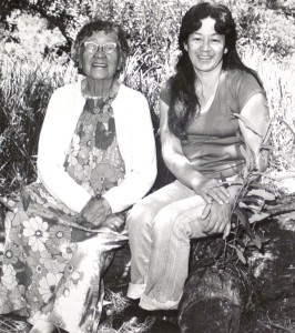 Elder Laura Somersal (Left)