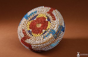 Beaded Basket#1